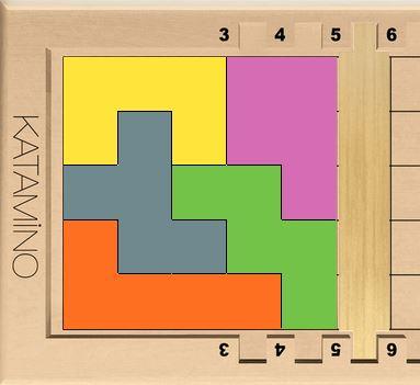 Solution possible pour réaliser un PENTA 5 en choisissant soi-même aléatoirement ses pièces.